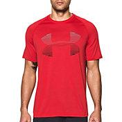 Under Armour Men's Tech Horizon Logo T-Shirt