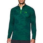 Under Armour Men's Tech Jacquard Quarter Zip Long Sleeve Shirt