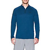 Under Armour Men's UA Tech Printed Quarter Zip Long Sleeve Shirt