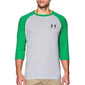 Under Armour Men's Tri-Blend Three Quarter Length Sleeve Shirt