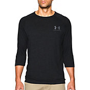 Under Armour Men's Tri-Blend Three Quarter Length Sleeve Shirt
