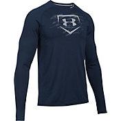 Under Armour Men's Training Long Sleeve Baseball Shirt