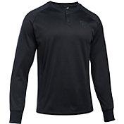 Under Armour Men's Warm Up Long Sleeve Henley Shirt