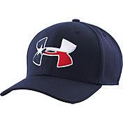 Under Armour Men's Texas Flag Big Logo Low Crown Hat