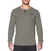 Under Armour Men's Waffle Henley Long Sleeve Shirt