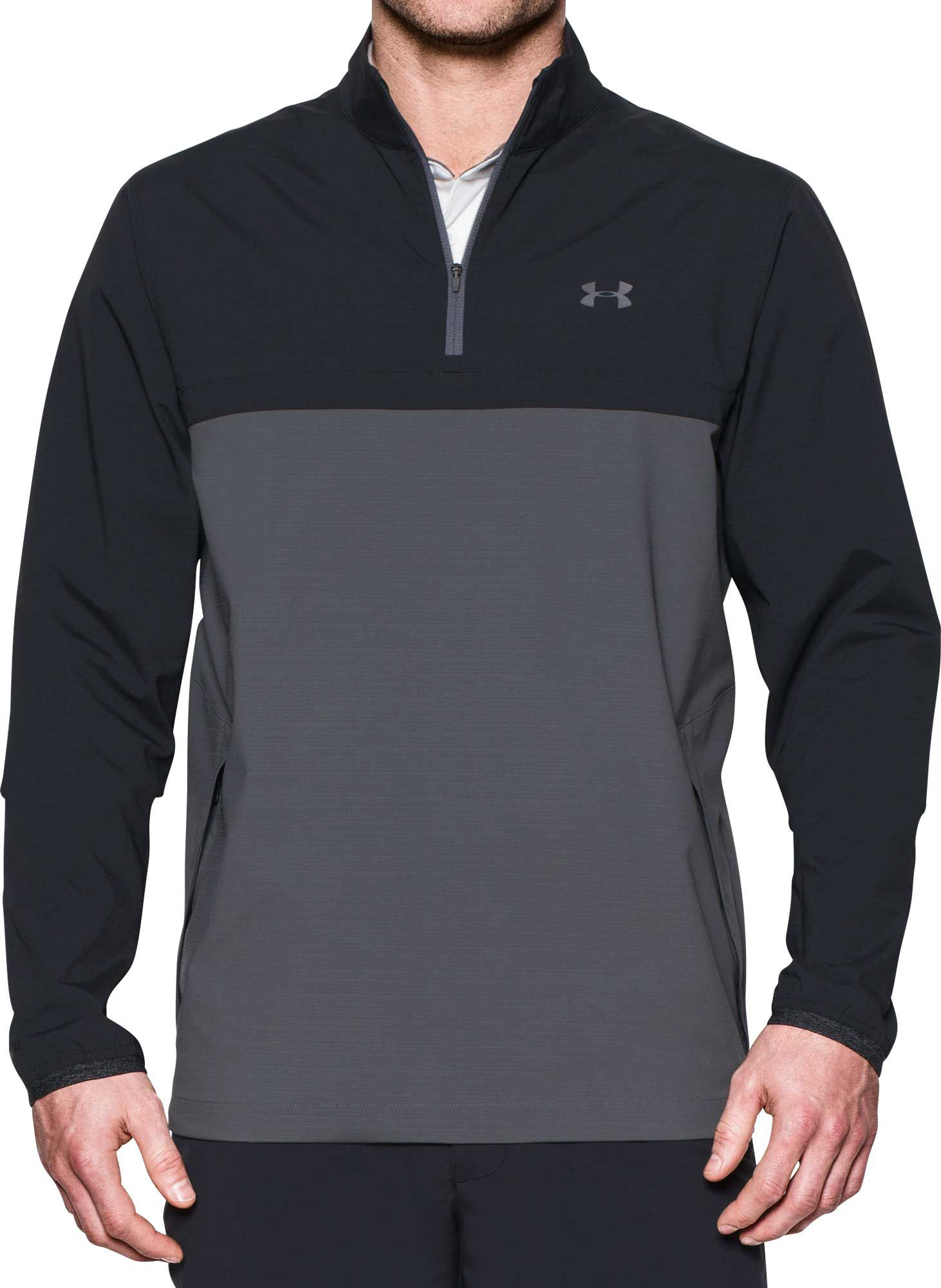 under armour zip up. under armour men\u0027s storm windstrike half-zip golf pullover zip up t