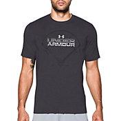Under Armour Men's Wordmark Baseball Field Graphic T-Shirt