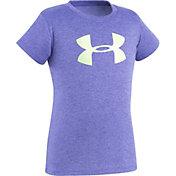 Under Armour Toddler Girls' Glitter Big Logo T-Shirt