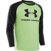 Under Armour Toddler Boys' Big Logo Long Sleeve Shirt