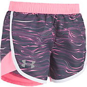Under Armour Toddler Girls' Mojave Fast Lane Shorts