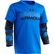 Under Armour Toddler Boys' Printed Slider Long Sleeve Shirt