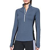 Under Armour Women's ColdGear Basic Half Zip Long Sleeve Shirt