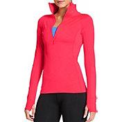 Under Armour Women's ColdGear Cozy Half Zip Long Sleeve Shirt