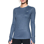 Under Armour Women's ColdGear Graphic Crewneck Long Sleeve Shirt