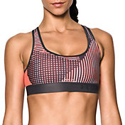 Under Armour Women's Crossback Embossed Sports Bra