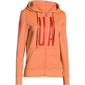Under Armour Women's Storm Armour Fleece Full Zip Graphic Hoodie
