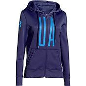 Under Armour Women's Storm Armour Fleece Full Zip Graphic Hoodie