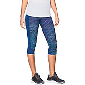 Under Armour Women's Fly By Printed Running Capris
