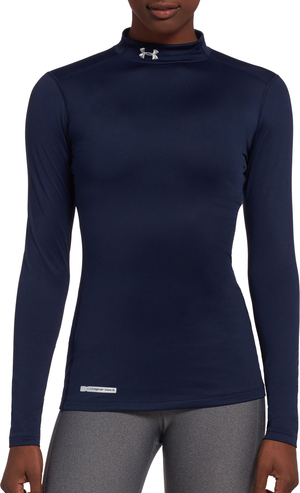 under armour jackets women s. under armour women\u0027s fitted coldgear mockneck shirt jackets women s