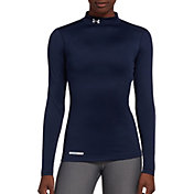 Under Armour Women's Fitted ColdGear Mockneck Shirt