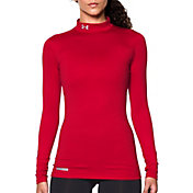 Under Armour Women's Fitted ColdGear Mockneck Shirt