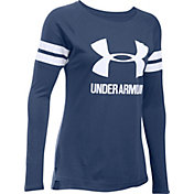 Under Armour Favorite Printed Stripe Long Sleeve Shirt