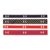 Under Armour Women's Graphic Elastic Headbands – Four Pack