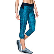 Under Armour Women's HeatGear Armour Printed Capris 2.0