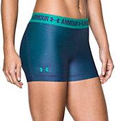 Under Armour Women's 3'' HeatGear Printed Compression Shorts 4.0