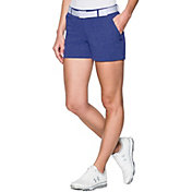 Under Armour Women's Links Shorty Vented Golf Shorts