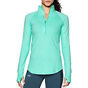 Under Armour Women's Threadborne Run True Half Zip Long Sleeve Running Shirt
