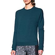 Under Armour Women's Modern Terry Crewneck Long Sleeve Shirt