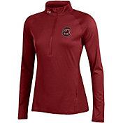 Under Armour Women's South Carolina Gamecocks Garnet UA Tech Quarter-Zip Shirt