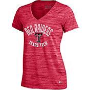 Under Armour Women's Texas Tech Red Raiders Red UA Space Tech V-Neck T-Shirt