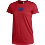 Under Armour NFL Combine Authentic Women's New York Giants Logo Tech Red Performance T-Shirt