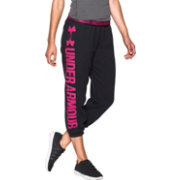 Under Armour Women's Power In Pink Favorite Fleece Capris Pants