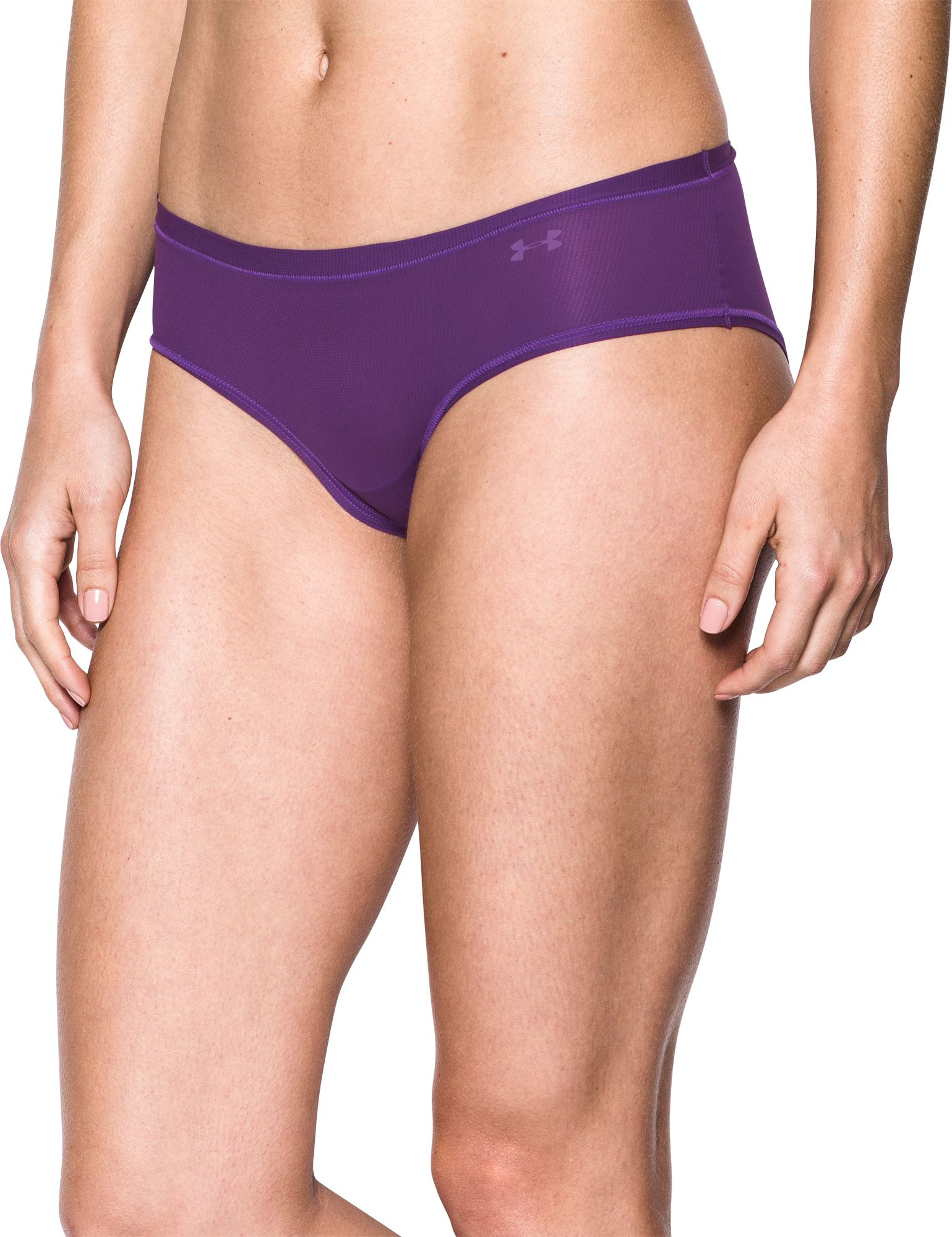Product Image Under Armour Women S Pure Stretch Sheer Hipster Underwear