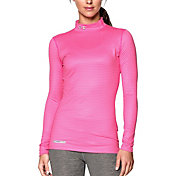 Under Armour Women's ColdGear Printed Mock Neck Long Sleeve Shirt