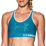 Under Armour Women's Armour Mid Graphic Sports Bra