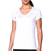 Under Armour Women's HeatGear Armour Mesh V-Neck T-Shirt