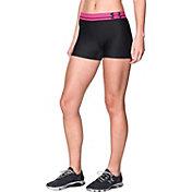 Under Armour Women's HeatGear Armour 3'' Compression Shorts