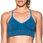 Under Armour Women's Seamless Feeder Stripe Sports Bra
