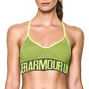 Under Armour Women's Seamless Feeder Stripe Sports Bra