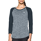 Under Armour Women's Tech Twist Print Three Quarter Sleeve Shirt
