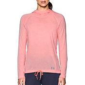 Under Armour Women's Threadborne Train Twist Print Hooded Long Sleeve Shirt
