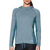 Under Armour Women's Threadborne Train Twist Print Hooded Long Sleeve Shirt