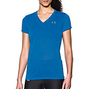 Under Armour Women's Threadborne Tech Pointe V-Neck T-Shirt