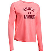 Under Armour Women's Tri-Blend Graphic Long Sleeve Shirt