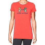 Under Armour Women's Camo Fill Logo T-Shirt