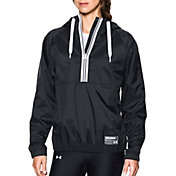 Under Armour Women's Woven Half Zip Hoodie